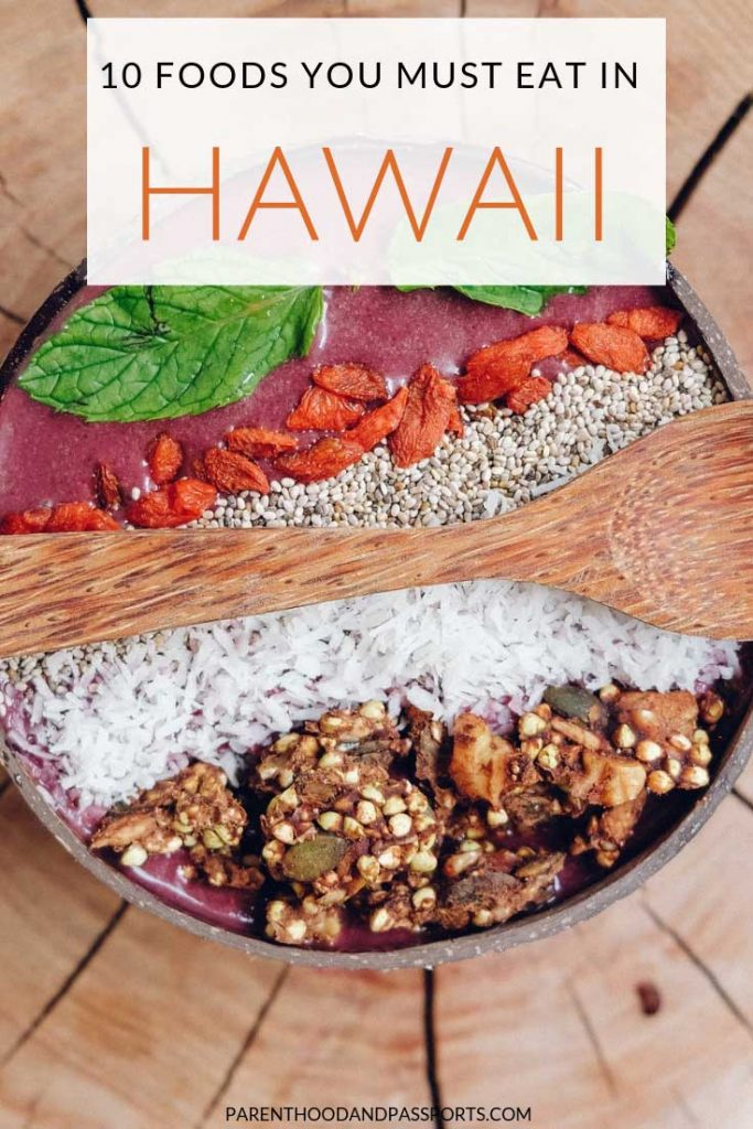 Visiting Hawaii soon? Check out these 10 awesome and delicious foods you must eat in Hawaii. These traditional Hawaiian foods are as unique as they are yummy.