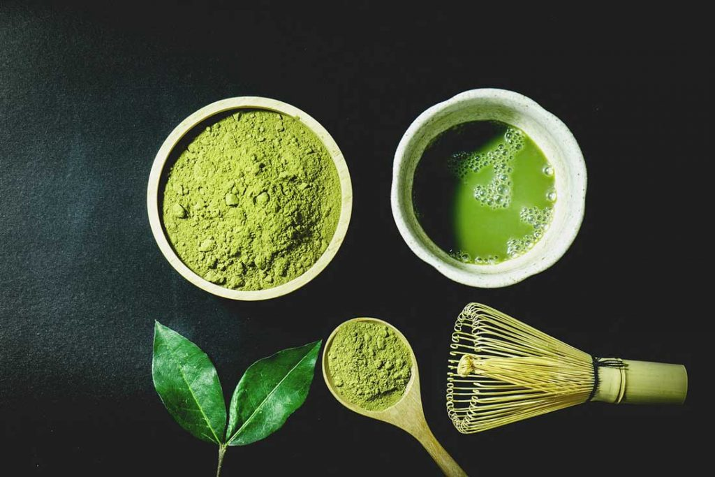 Japanese habits - matcha tea