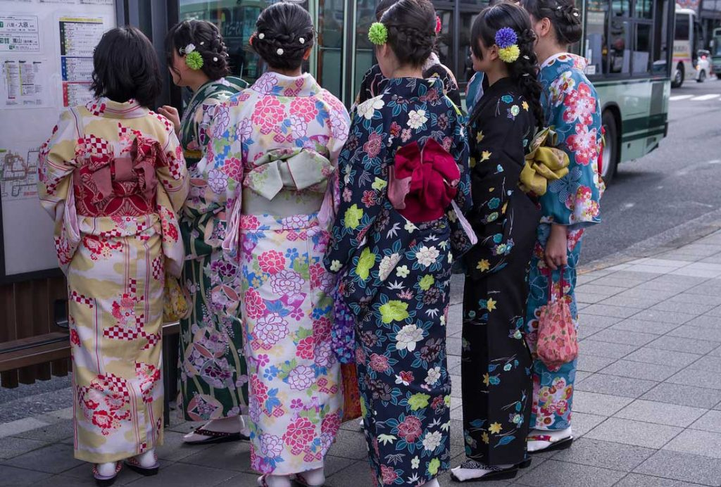 Japan way of life - kimonos