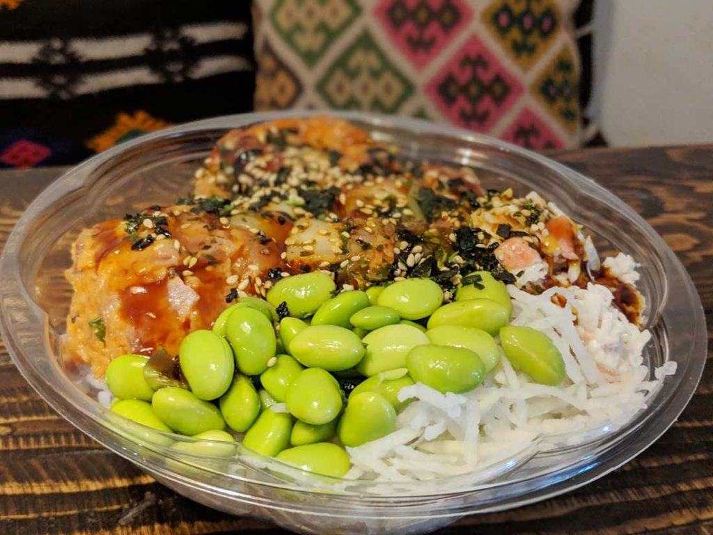 Poke - Hawaiian foods to eat on Oahu
