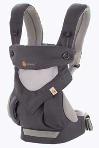 Ergobaby Omni 360 - a great soft-bodied carrier for traveling with babies