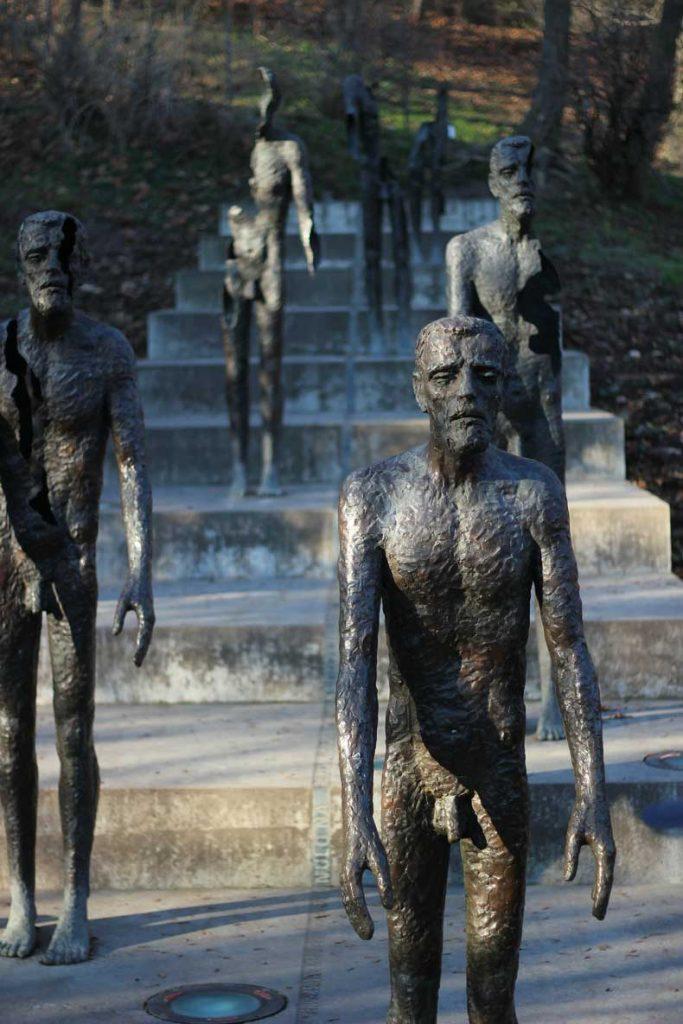 prague monument - memorial for victims of communism