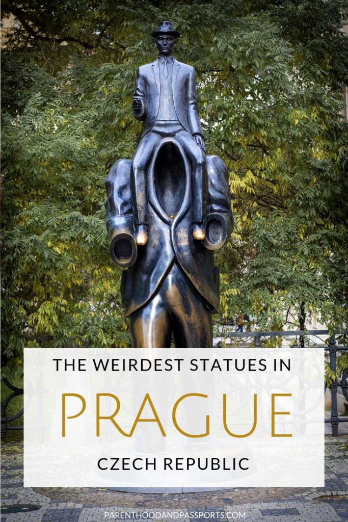 From the quirky to the unique, these 9 statues in Prague, Czech Republic are must-see, free attractions in Prague.