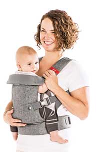 You+Me convertible travel baby carrier