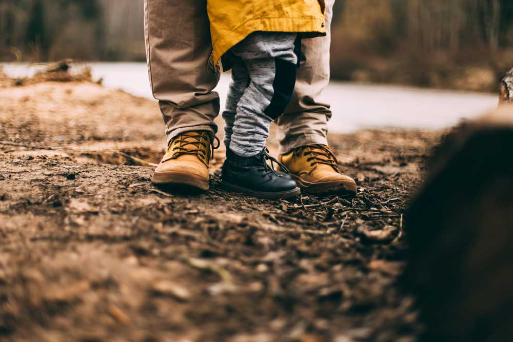 kids' camping apparel - hiking boots