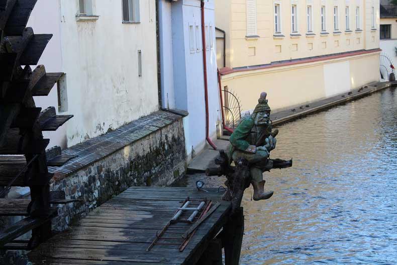 The water sprite statue Prague