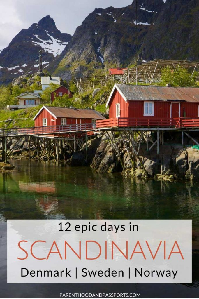 How to spend 12 epic days in Scandinavia. The Scandinavia itinerary takes you through Denmark, Sweden and Norway. You'll hit many of the top attractions in Scandinavia and see the majestic fjords, colorful fishing villages, incredible cities, and the one of the oldest theme parks in the world. So if you're looking for things to do in Scandinavia, this itinerary is a perfect place to start! #scandinavia #denmark #sweden #norway #europe