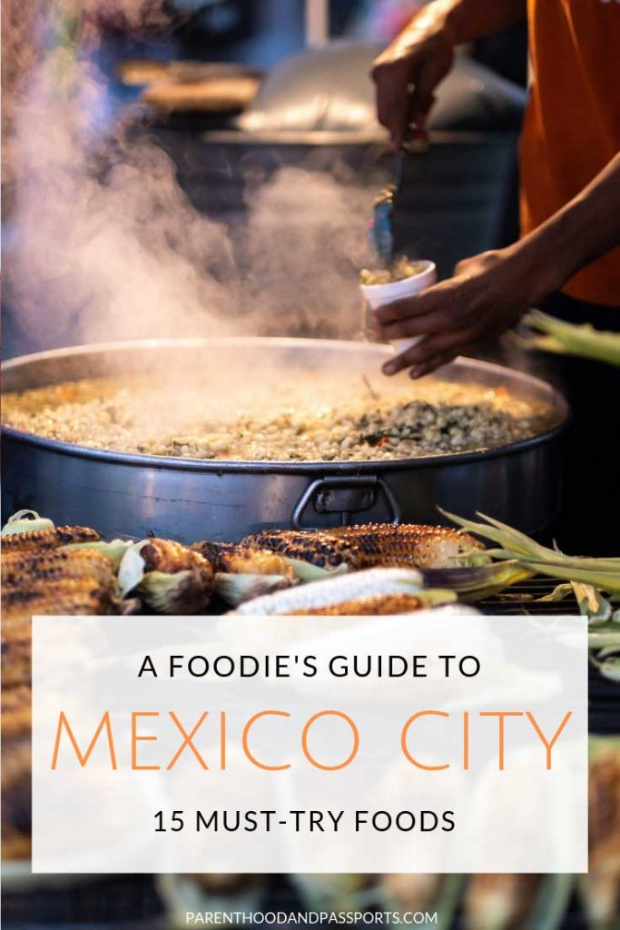 Mexico City is known for it's awesome street food and unique culinary dishes. Click through for a look at the 15 best foods to eat in Mexico City.