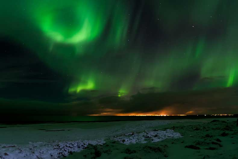 Northern lights Iceland fun facts