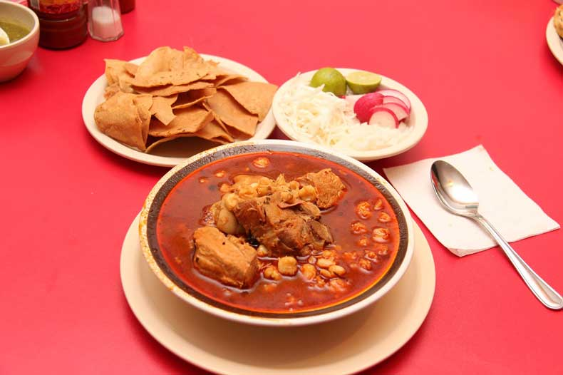 Pozole Mexico City food