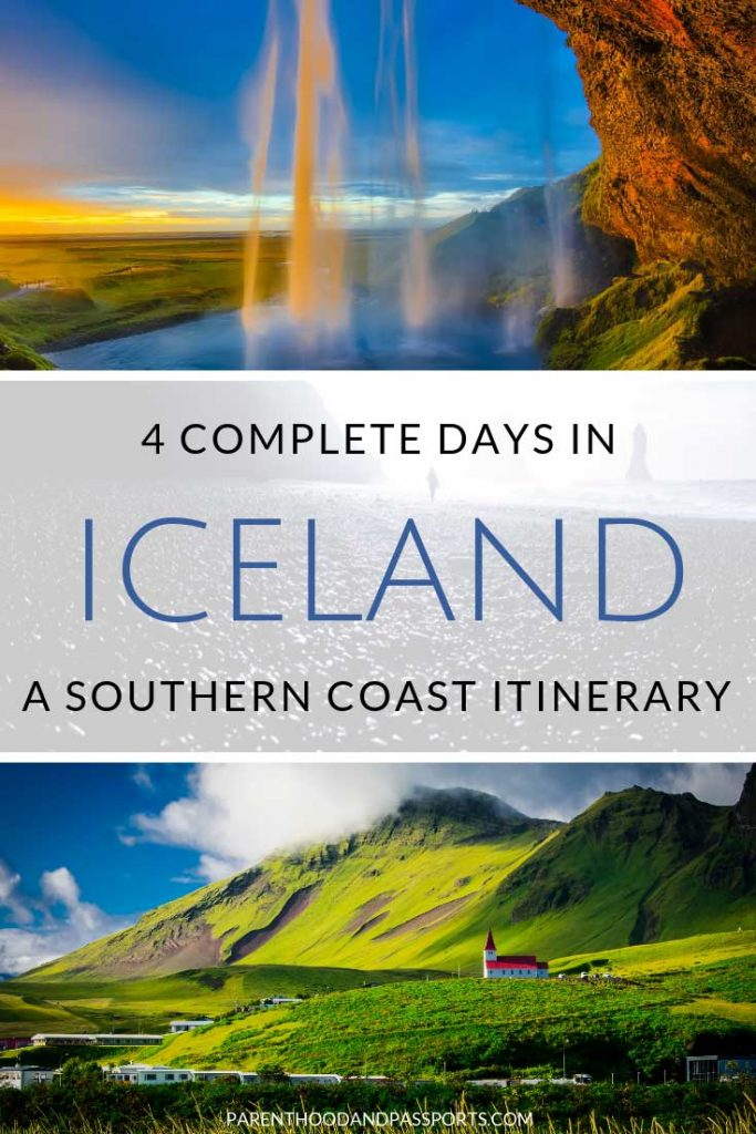Only have 4 days in Iceland? You can still see many of Iceland's top attractions. This 4-day Iceland itinerary covers the majestic southern coast of Iceland, one of the most popular regions of the country. #iceland #itinerary #goldencircle
