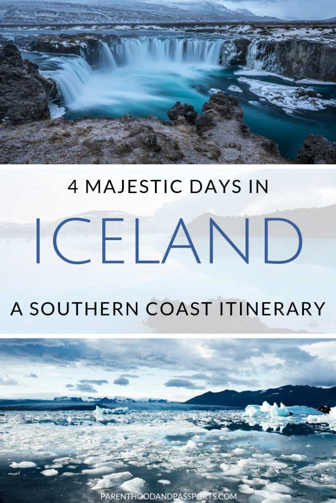 With only 4 days in Iceland, you can see many of the top attractions along the southern coast. This 4-day Iceland itinerary covers the popular southern coast from Reykjavik to the glacier lagoon and the Golden Circle. #iceland #itinerary #goldencircle