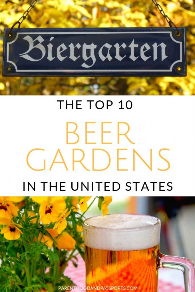 You don't have to go to Munich, Germany to celebrate Oktoberfest! Instead, celebrate at one of these awesome beer gardens in the United States. These 10 beer gardens in America will make you feel like you are truly taking part in the German festival. Click through to find the closest biergarten in the United States to visit. #beergarden #biergarten #unitedstates #beer #usa