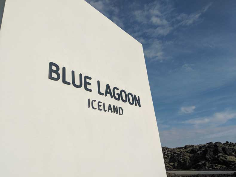 Is the Blue Lagoon worth it? Blue Lagoon Iceland sign