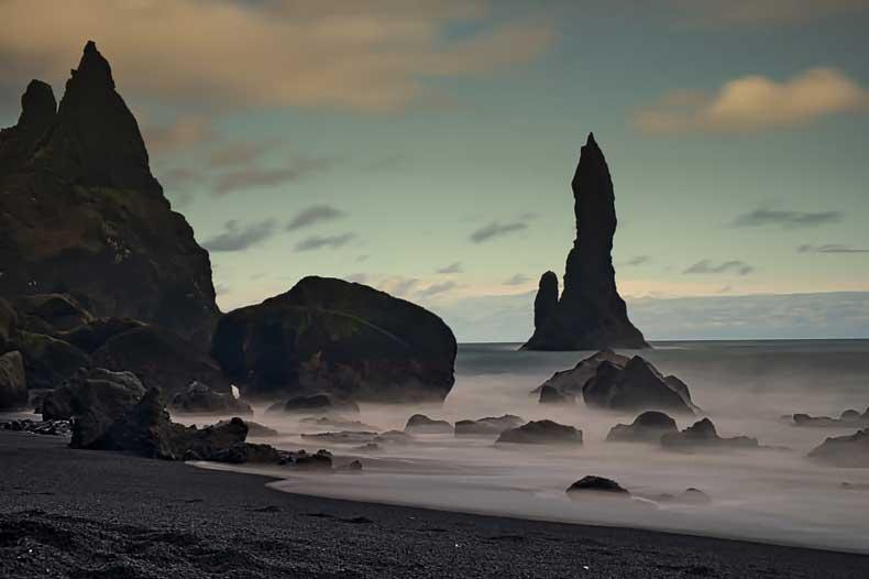 Iceland Reynishfjara Beach