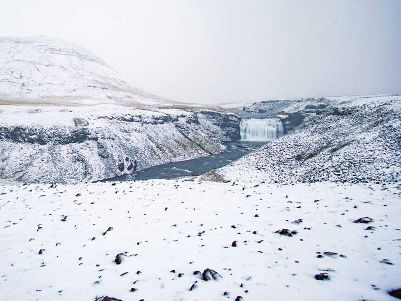 Porufoss Iceland