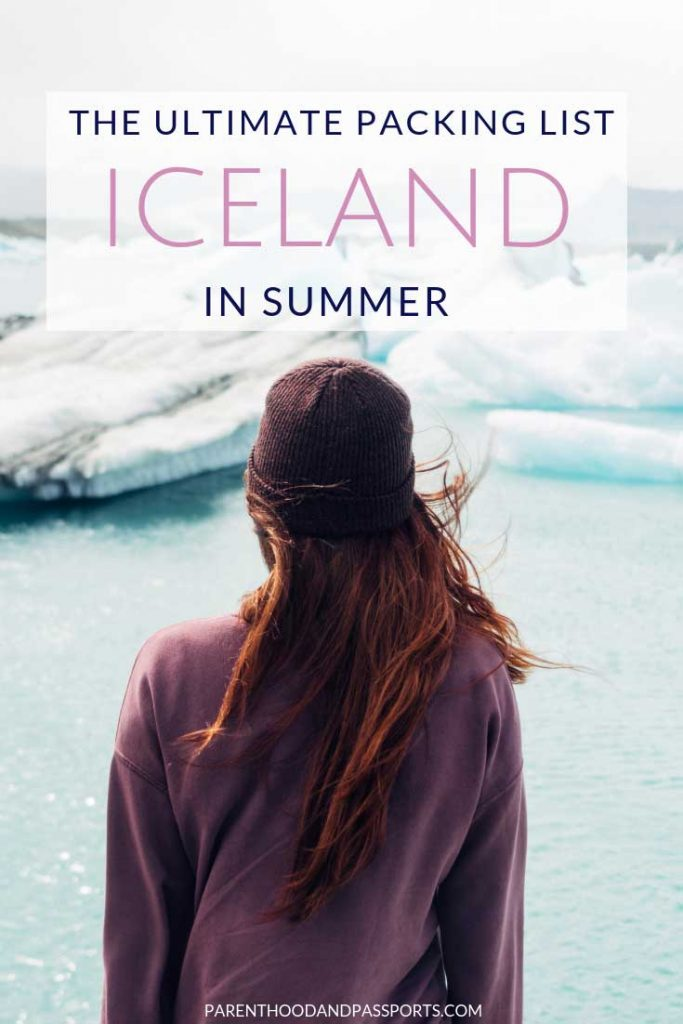 Wondering what to pack for Iceland? This detailed Iceland packing list for summer covers what to wear in Iceland and what to bring for a perfect trip! #iceland #packinglist #packingtips #whattowear