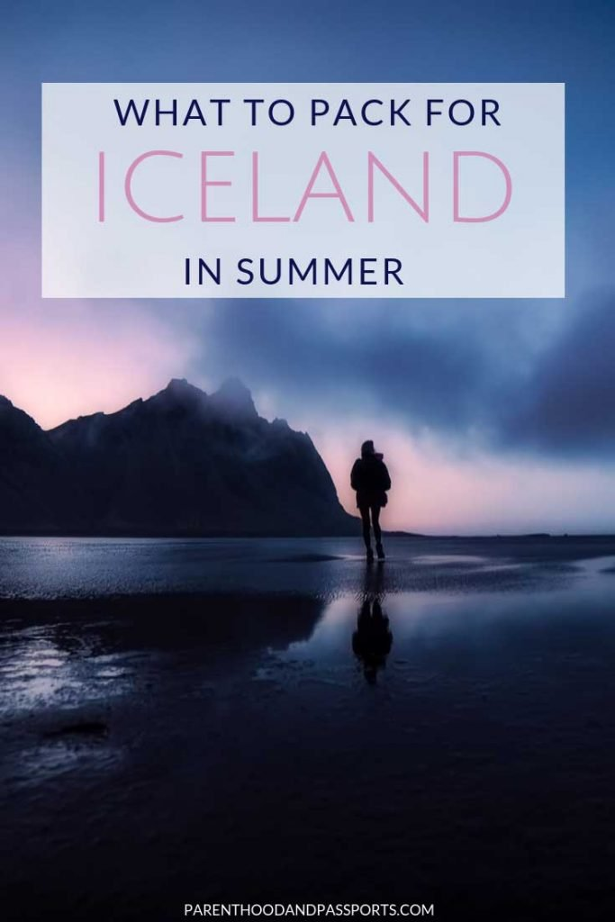 Wondering what to pack for Iceland? This detailed Iceland packing list for summer covers what to wear in Iceland (for the whole family!), what necessities you need to bring with you to Iceland, and where to get everything you need for your trip. This ultimate Iceland packing list will ensure your trip to Iceland is memorable for all the right reasons.  #iceland #packinglist #packingtips #whattowear