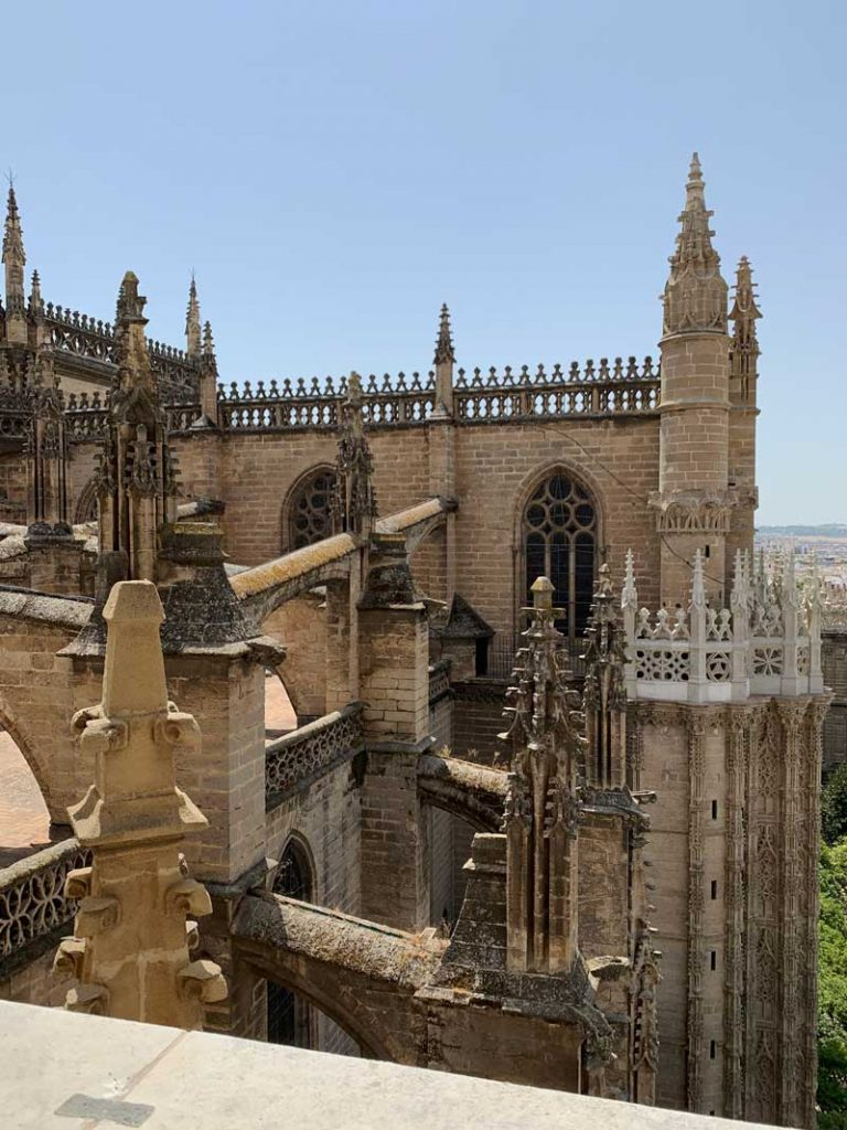 3 days Seville cathedral view from Giralda Tower