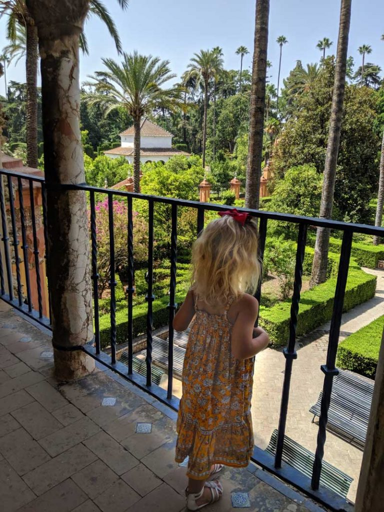 Seville with kids Real Alcazar