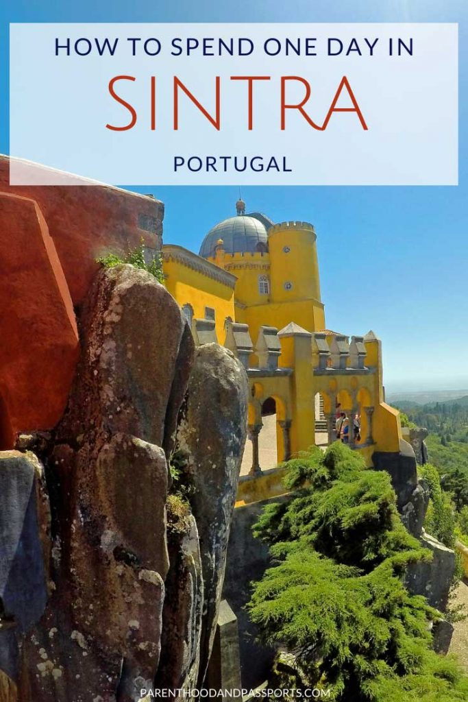 The perfect itinerary for one day in Sintra, Portugal including tips to avoid the crowds and make the most of your time on a day trip to Sintra.