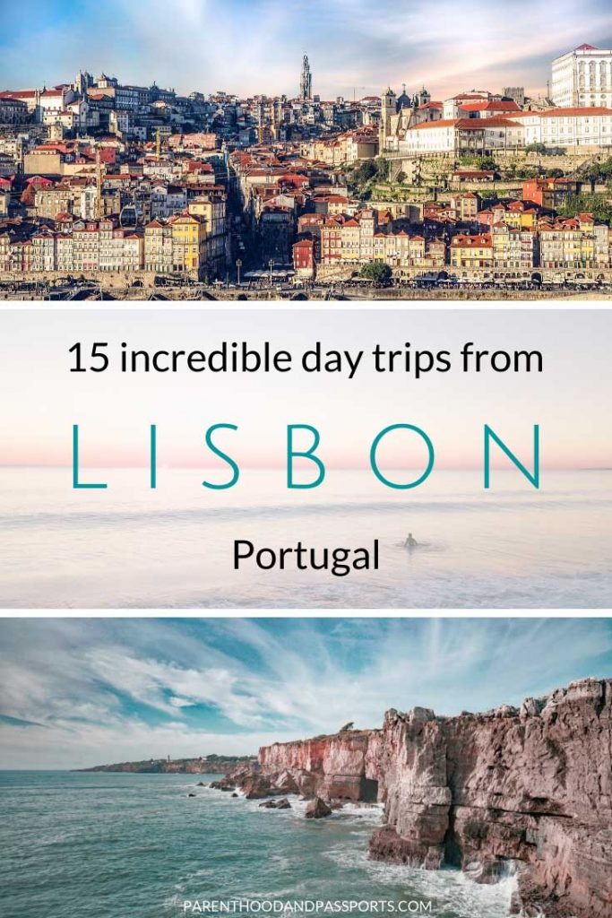 Looking for the best day trips from Lisbon, Portugal? From beaches to charming towns with red tile roofs, and fairy tale castles, these 15 Portugal day trips will make any vacation a holiday to remember. #portugal