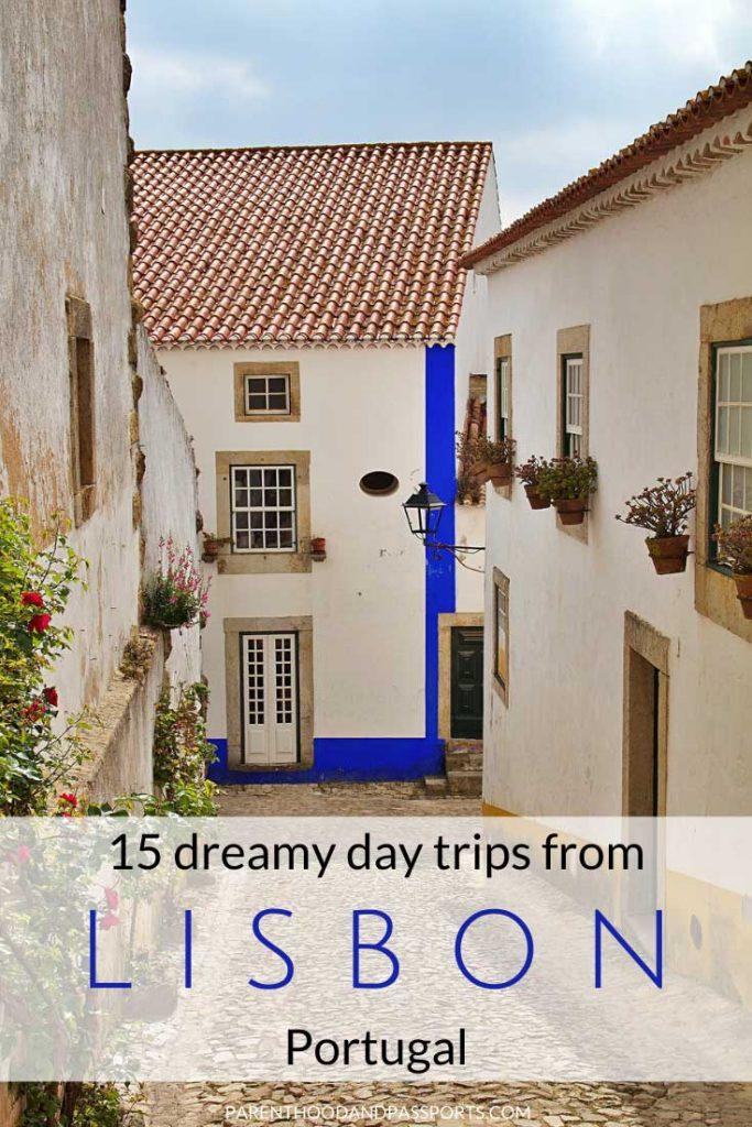 From cliffside shores and charming villages, to fairy tale castles and beautiful beaches, these 15 day trips from Lisbon, Portugal will make any vacation a holiday to remember. #portugal