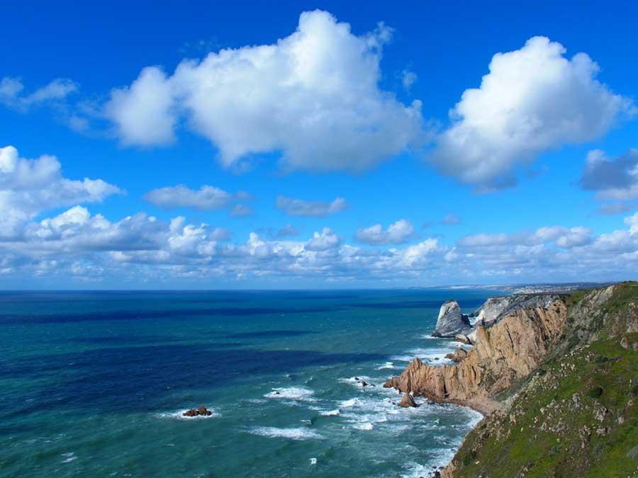 Cabo da Roca Portugal coastline