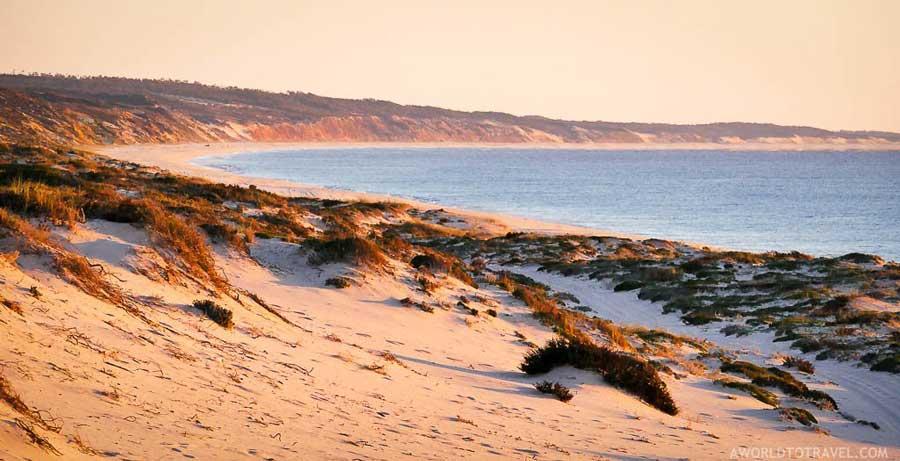 Comporta coastline and beach portugal