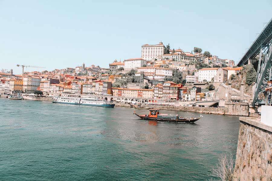 Porto Portugal from the water