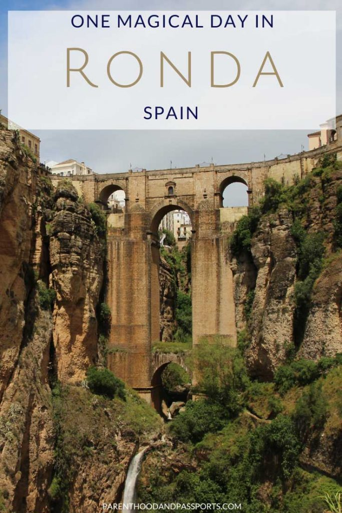 Wondering what to see in Ronda Spain in one day? Here are the top five attractions in Ronda - the magical village on a cliff. #spain #ronda