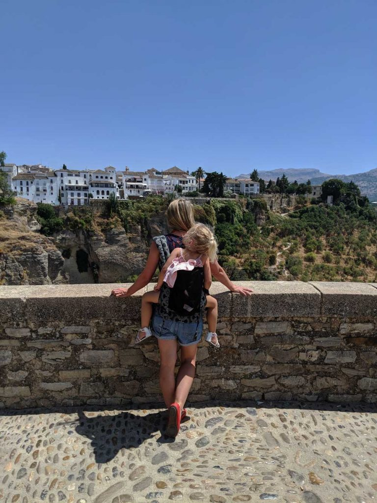 a scenic viewpoint of Ronda Spain - one of the top places to visit in Ronda