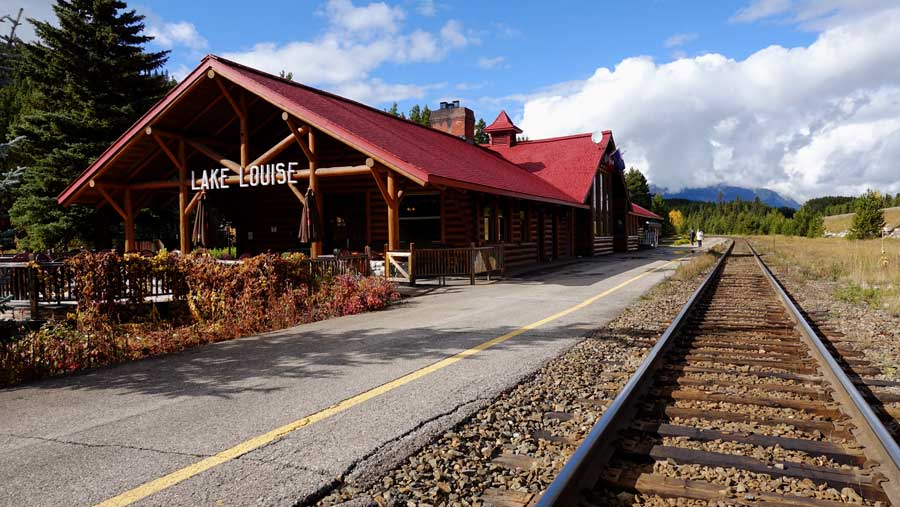 The Station Restaurant in Lake Louise - a converted train station
