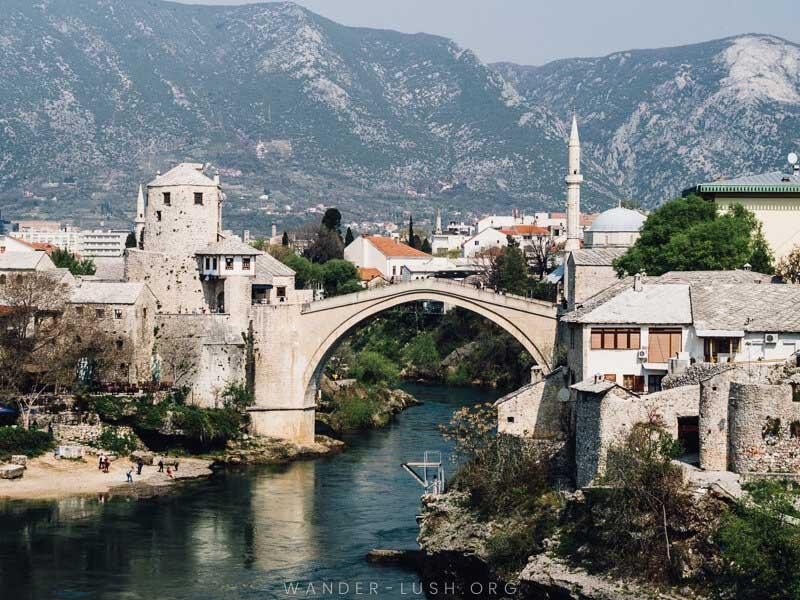 Stari Most in Monstar, Bosnia