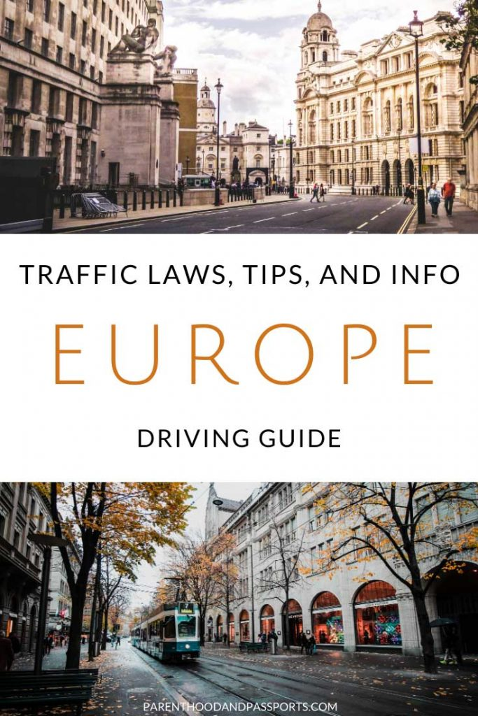 Driving in Europe often includes border crossings and varying laws from country to country. This Europe driving guide includes tips and everything you need to know about driving in Europe. #europetravel #traveltips #europe