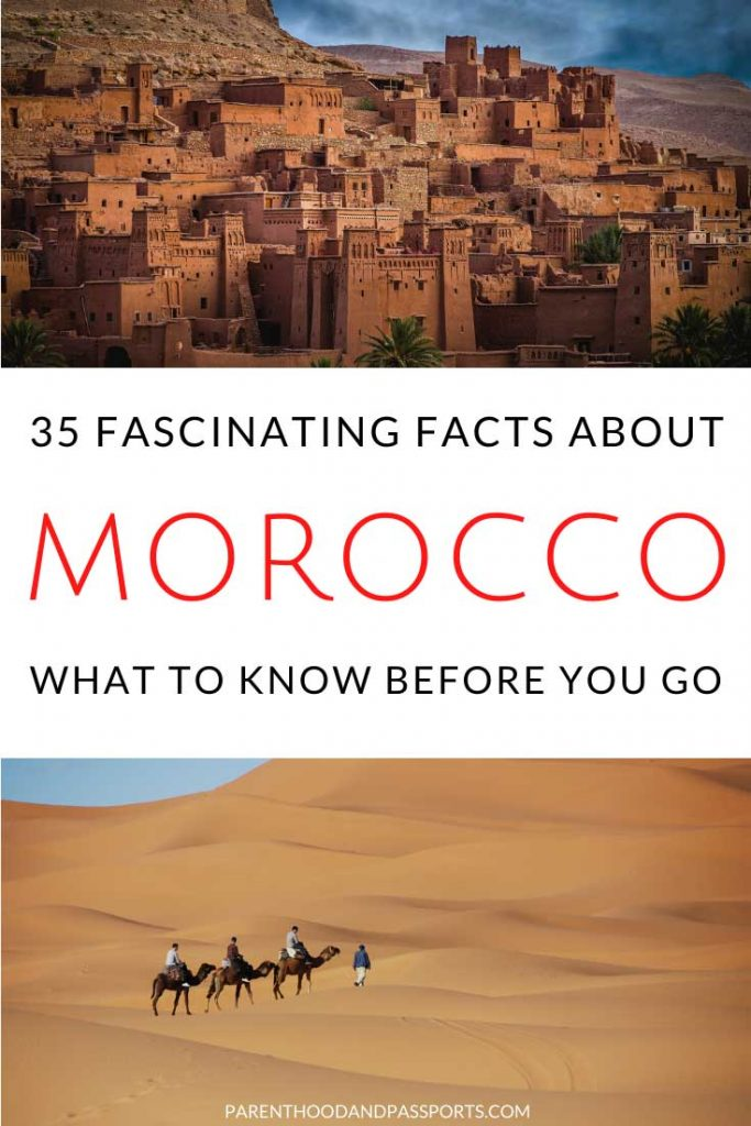 Dreaming of travel to Morocco? Click through for all the Morocco travel information and the most interesting facts about Morocco that travelers should know before they go! #morocco #travel #africa
