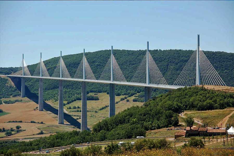 Millau Viaduct in France.