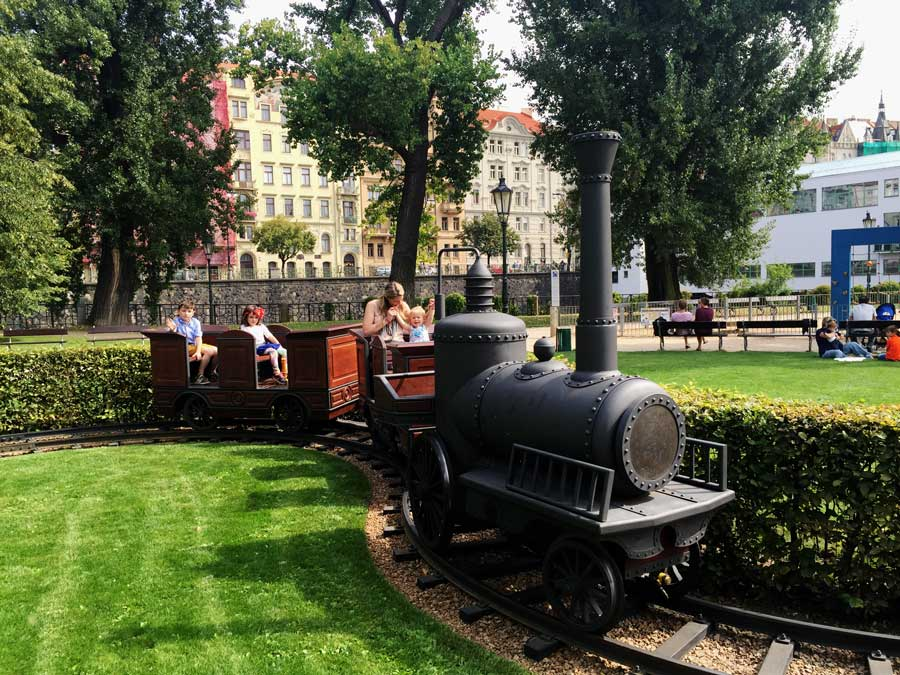 Slavonic Island train for kids