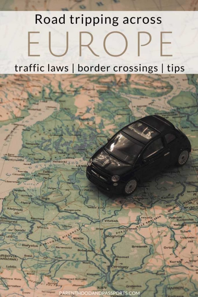Planning a road trip through Europe? This European road trip guide includes everything you need to know about driving in Europe, including traffic laws, necessary documents you need to drive in Europe, and the best Europe road trip tips and advice. #europetravel #roadtrip