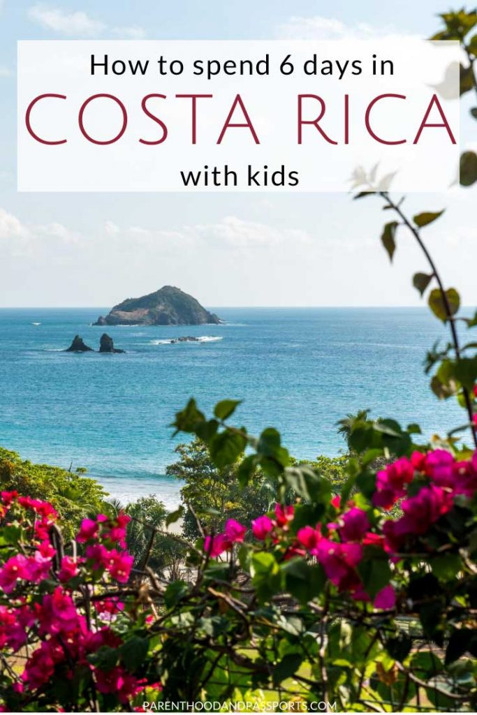 Planning to travel to Costa Rica? Here's how to spend an adventure-packed 6 days in Costa Rica with kids - or without. This full itinerary includes the top things to do in Costa Rica and offers family travel tips for visiting all the top attractions in Costa Rica. #costarica #familytravel #traveltips #CostaRicaitinerary