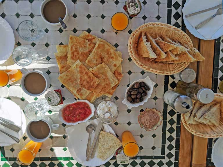 Moroccan food kid friendly breakfast