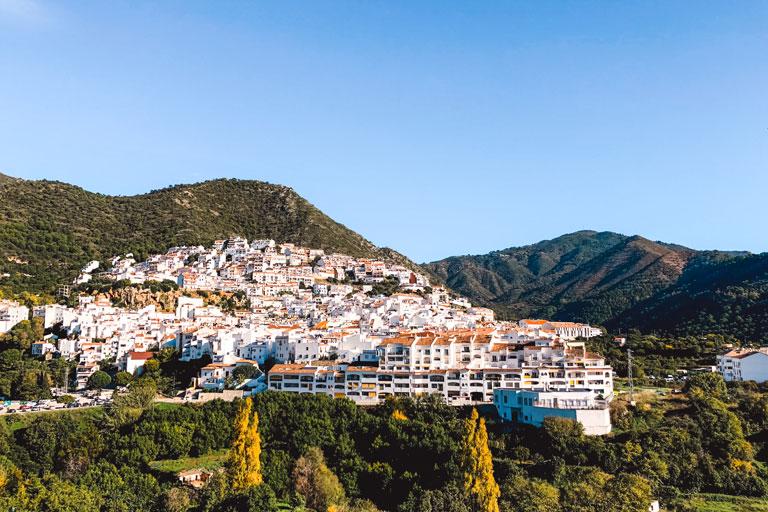 The pueblo blanco of Ojén, Spain
