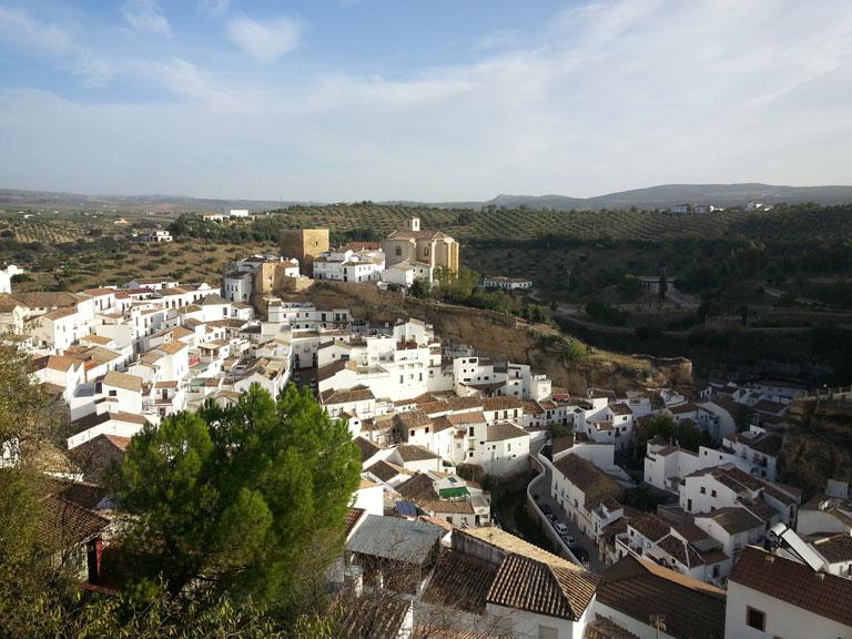 Setenil de las Bodegas, one of the most famous white villages in Spain