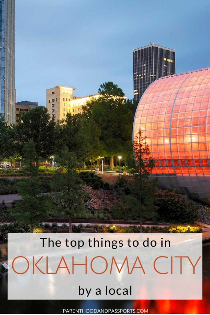 Planning a trip to Oklahoma City? Here are the top 25 fun things to do in OKC with kids. Written by a local, this guide details the best things to do in Oklahoma City with kids - or without. #oklahoma #okc #oklahomacity #usatravel