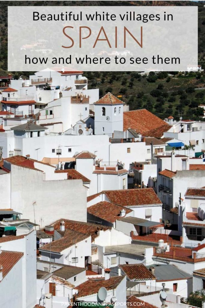 The white villages in Spain, or pueblos blancos, are mostly found in Andalusia. However, there are quaint Spanish towns with brilliant white walls located throughout the country. Here are the best white-washed Spanish villages and towns to add to your Spain itinerary. #spain