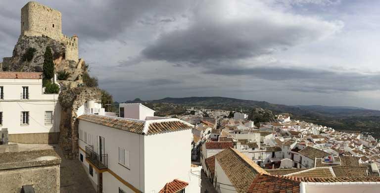 white village in Spain