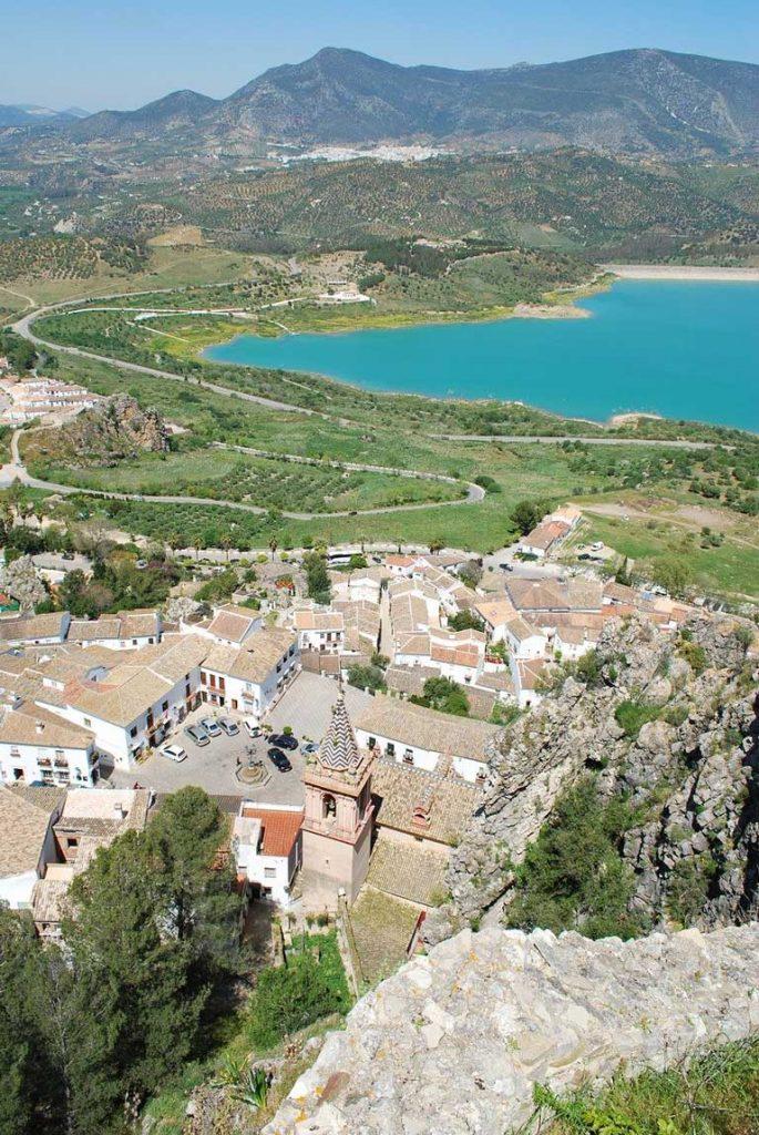 Zahara de la Sierra Spain