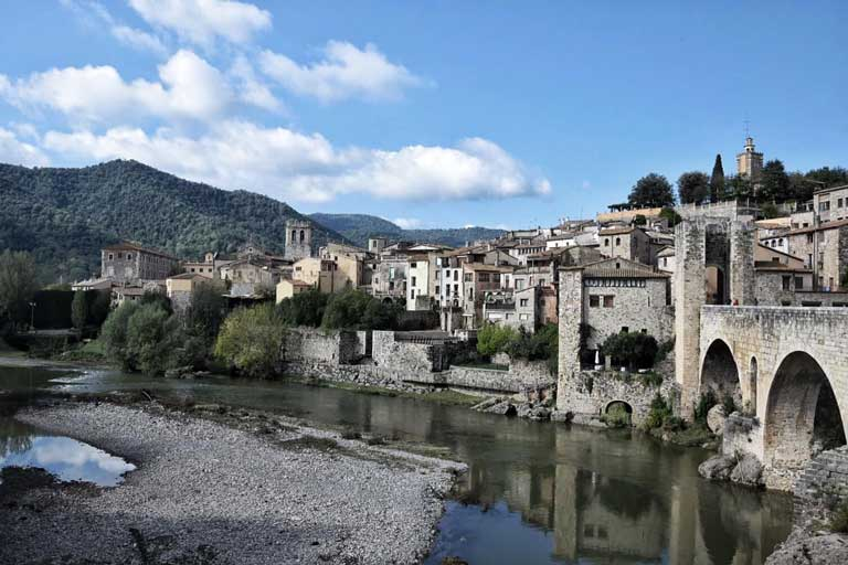 village of Besalu Spain one of the most beautiful places in Spain for your bucket list