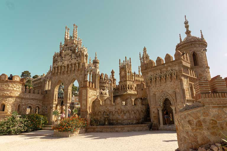 Castillo de Colomares, one of the most beautiful monuments in Spain