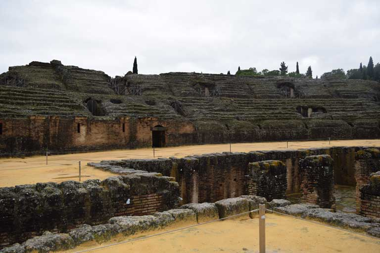 Italica, one of the most historically beautiful places in Spain